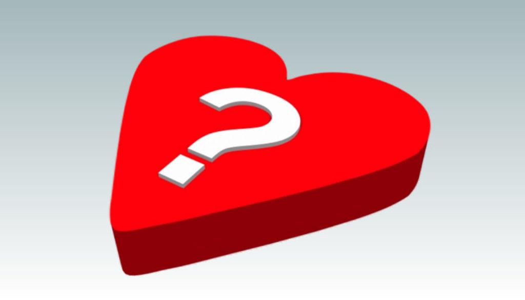 Point d'Interrogation dans un cœur