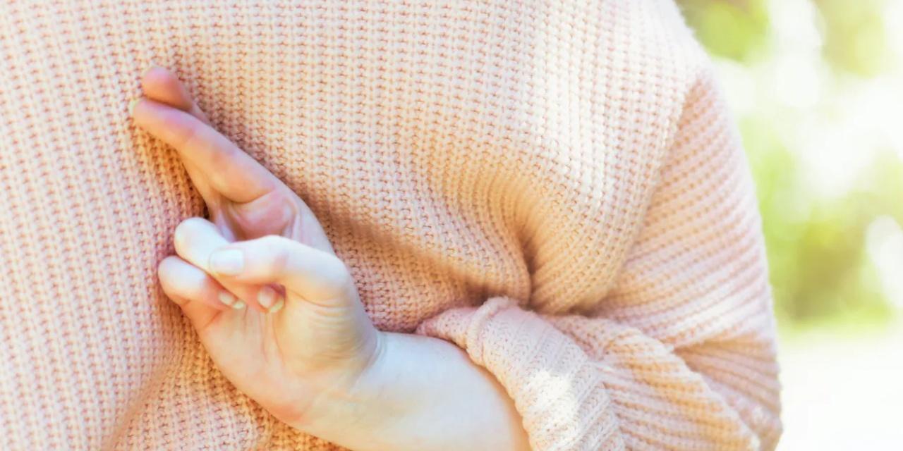 doigts croisés